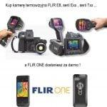 Kup kamerę termowizyjną FLIR E8 , Exx , Txx gratis dostaniesz FLIR ONE