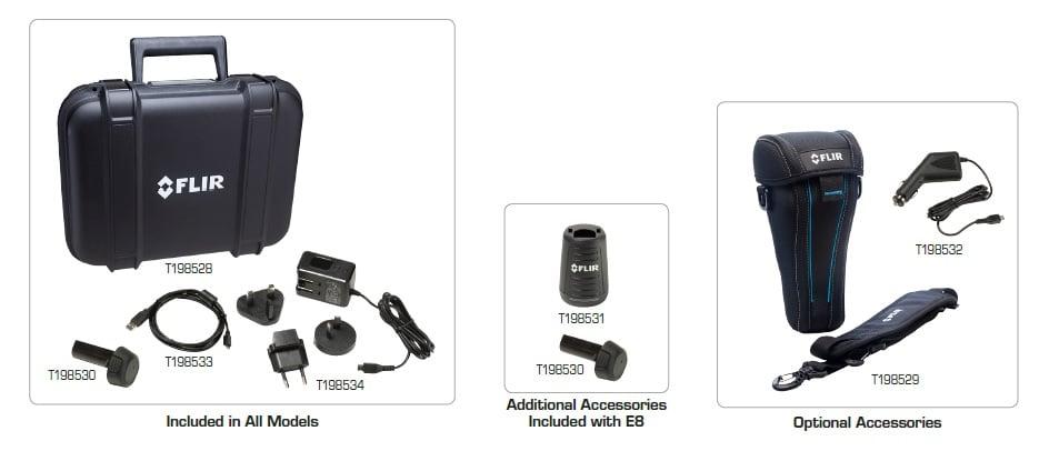 akcesoria do FLIR E4 E5 E6 E8