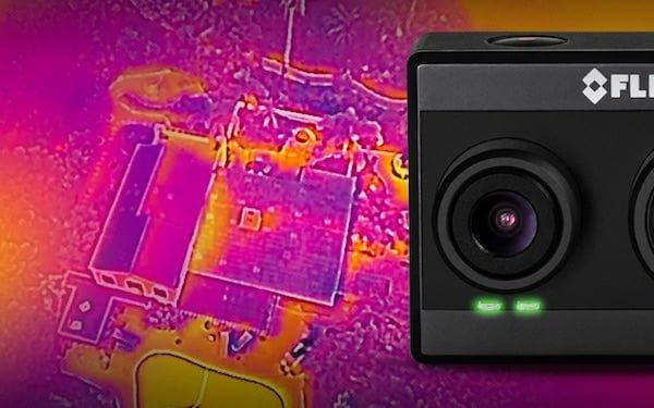 FLIR DUO kamera termowizyjna 8