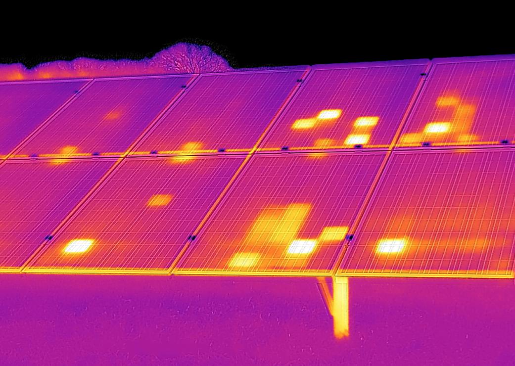 szkolenia z badań termowizyjnych paneli fotowoltaicznych