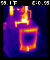 Pirometr FLIR TG165 z kamerą termowizyjną 4