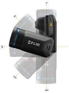FLIR T540 T530 kamera termowizyjna 4