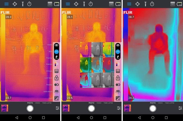 Najlepsze dodatkowe aplikacje dla kamery termowizyjnej FLIR ONE PRO 8