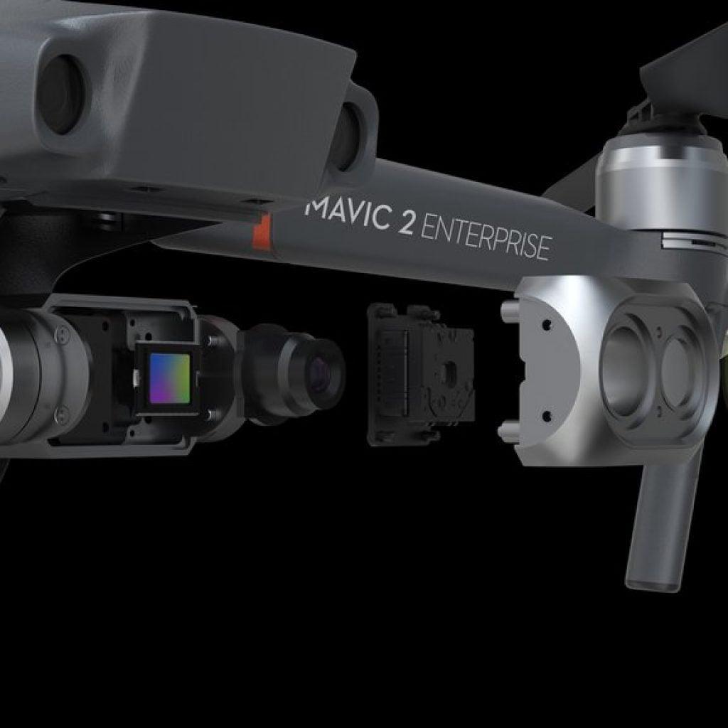 DJI Mavic 2 Enterprise Dual z kamera termowizyjną 2