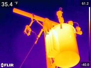 FLIR T840 kamera termowizyjna 4