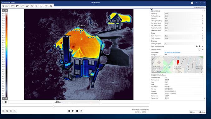FLIR Thermal Studio oprogramowanie do analizy termogramów 2