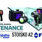 Kamery termowizyjne FLIR w Krakowie na targach Maintenance 2019