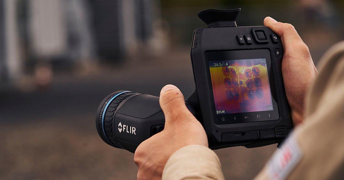 FLIR T860 kamera termowizyjna