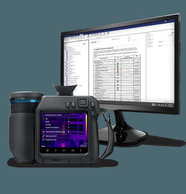 FLIR T860 kamera termowizyjna 3