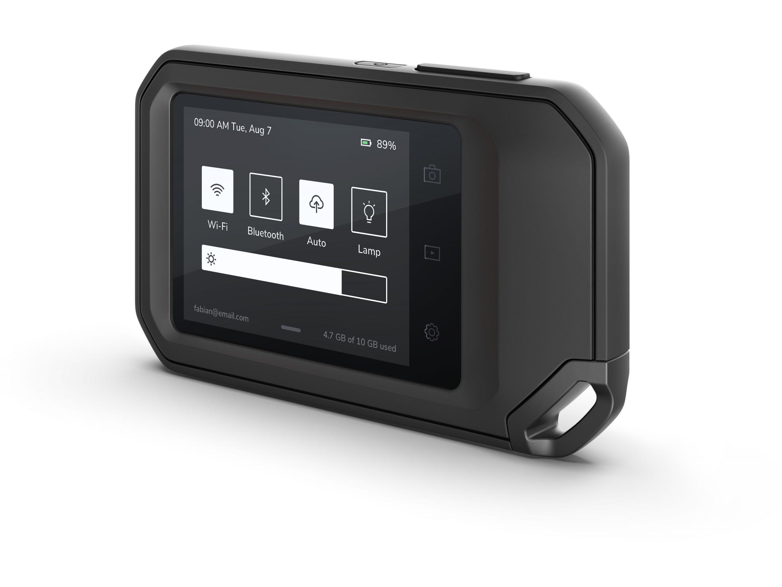 FLIR C5 menu kamery termowizyjnej