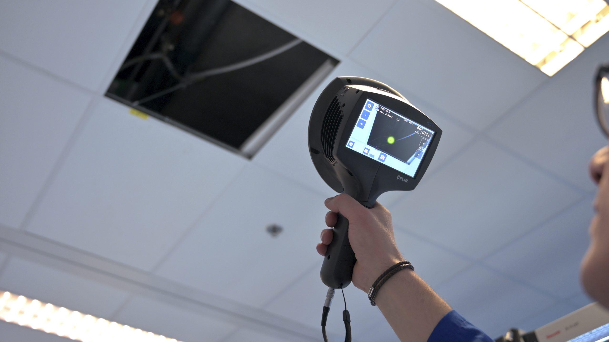 FLIR Si124 przemysłowa kamera ultradźwiękowa