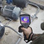Diagnostyka silników i pomp z użyciem kamery termowizyjne FLIR 6