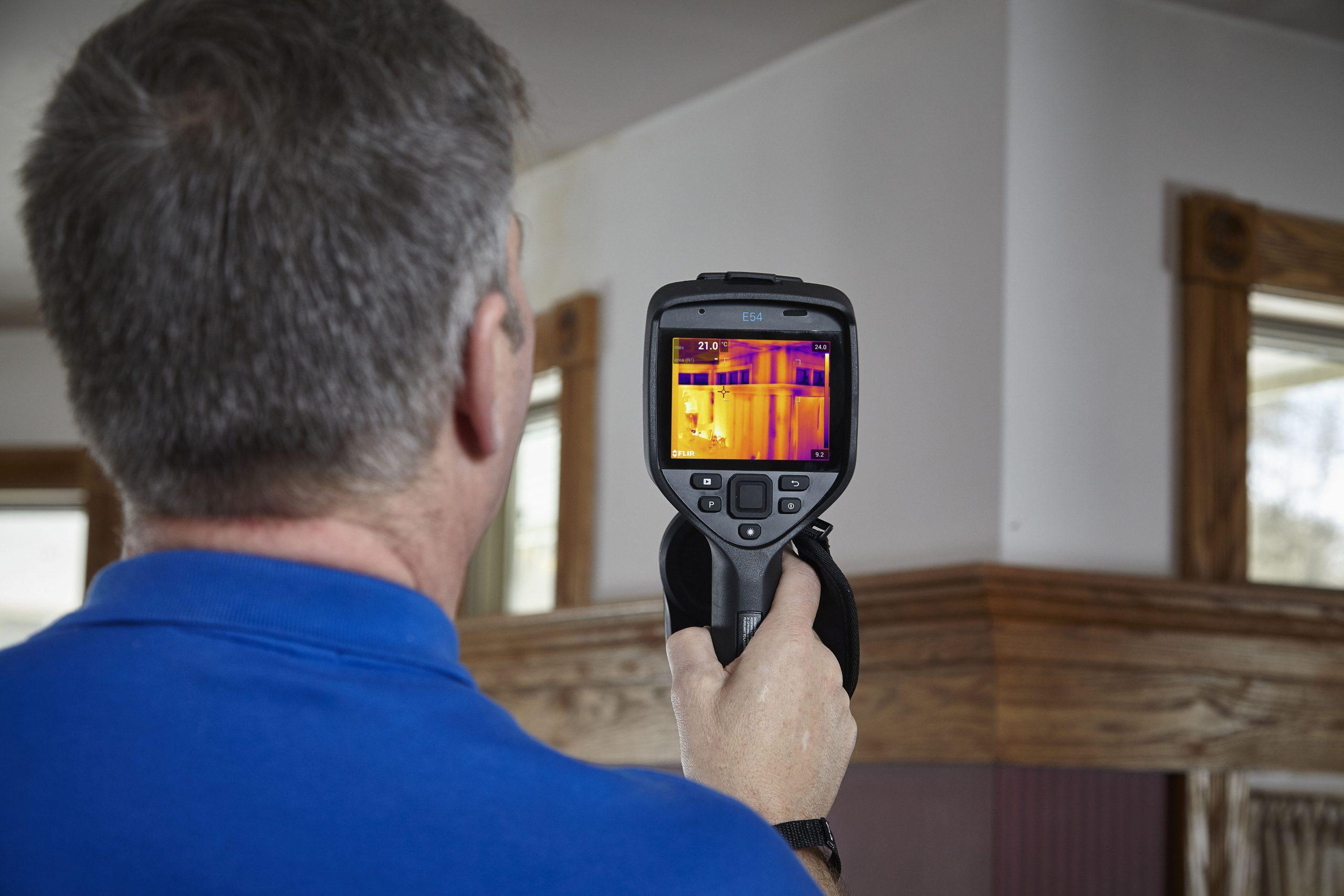 Kamery termowizyjne FLIR dla budownictwa 1