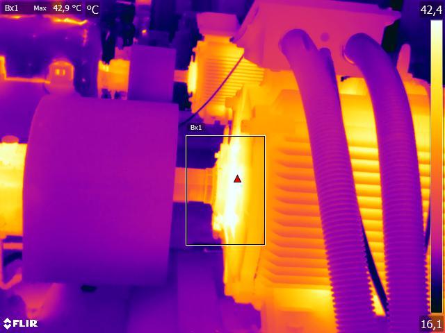 Diagnostyka silników i pomp z użyciem kamery termowizyjne FLIR 2