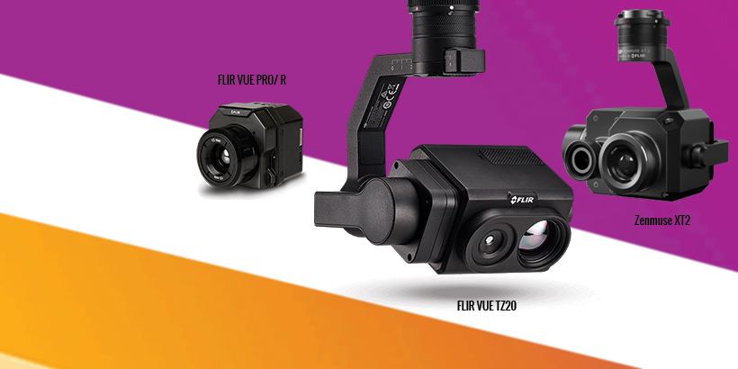 Kamery termowizyjne FLIR dla dronów 2